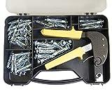 405504 Trousse de fixation pour outil de fixation de pinces pour ancres en plâtre 72PC
