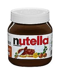 nutella - Nuss-Nougat-Creme, 1 Glas mit 450g, leckere Haselnuss-Schoko-Creme als Aufstrich oder für
