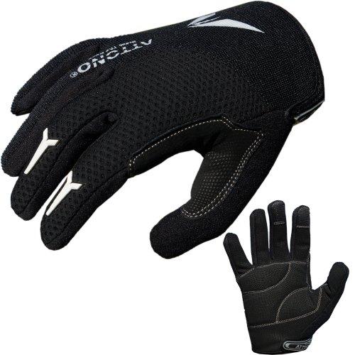 ATTONO Mountainbike Handschuhe Gel Fahrrad BMX Sommer Fahrradhandschuhe - Gr. 11/XXL
