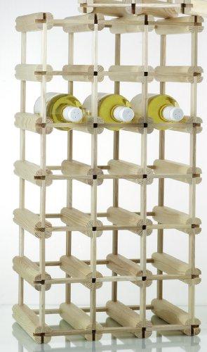 Flaschenregal / Weinregal 24 Flaschen werkstatt-design schönes aus werkstätten für behinderte menschen