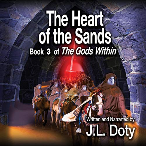 The Heart of the Sands audiobook cover art