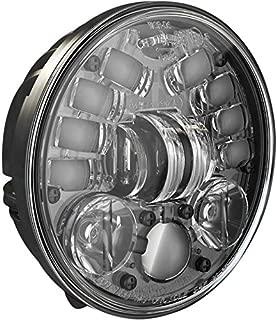 J.W. Speaker 0555111 5.75in. 8691 Pedestal Mount LED Adaptive 2 Headlight - Black