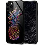 ZHEGAILIAN iPhone 11 Case,Mandala Galaxy Pineapple iPhone 11 Cases for Women Girls,Anti-Slip Drop Protection with Soft TPU Bumper Pattern Design Case for Apple iPhone 11