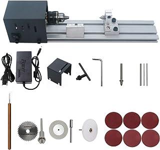 comprar comparacion KKmoon Mini torno de pulir máquina de pulir artesanía de carpintería bricolaje herramienta rotativa universal conjunto