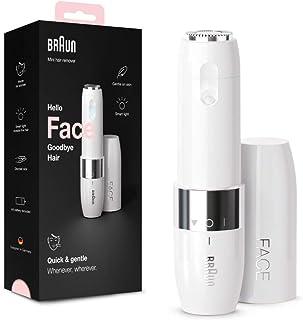 Braun Face Mini Haarentferner FS1000, elektrischer Gesichtshaarentferner für Frauen,..