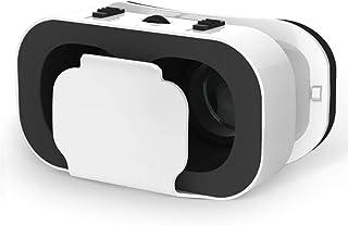 快適な新しい3D VRメガネ-ハンドルミニ、軽量で、家庭、ゲーム、劇場、白に適しています