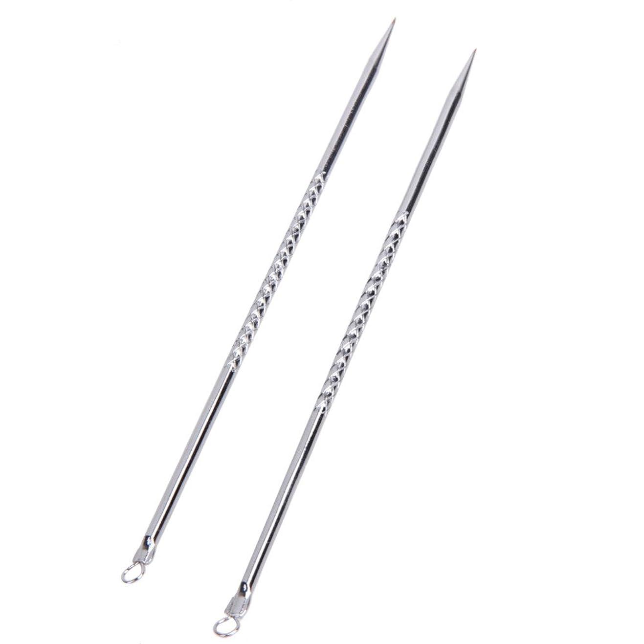 ダイヤモンドレザー考慮6pcs Blackhead Acne Pimple Remover Tool Extractors