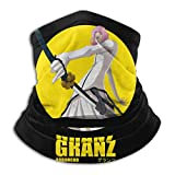 AmyNovelty Magic Headband,Anime B-L-E-A-C-H Arrancar Granz Sweatband para El Cuello, Protectores Faciales A Prueba De Arena para Correr Deportivo,26x30cm