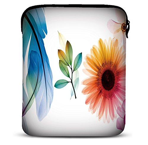 MySleeveDesign 7-7,9 Zoll Tablet Hülle Sleeve Kompatibel Mit Samsung Galaxy Tab 4 7.0 Fire HD Apple iPad Mini Lenovo A7 Acer A1 One 7 Asus Nexus Kindle UVM. - Sunflower [7]