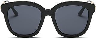 Cyxus Gafas de sol de gran tamaño para mujeres 100% protección UV lente TAC