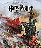 Harry Potter und der Stein der Weisen (farbig illustrierte Schmuckausgabe) (Harry Potter 1) - J.K. Rowling