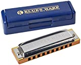 Hohner M533086 - Armónica en Sol Mayor (acero inoxidable), color azul