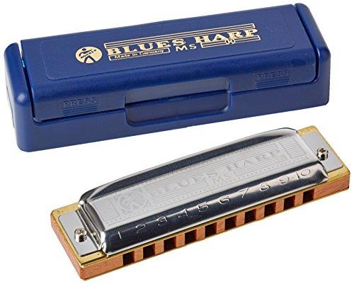 HOHNER Blues Harp/G 10 buche armonica (importato dal Giappone)