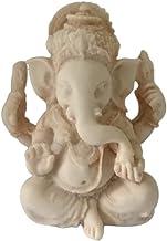 LAQI Decorazione Domestica Statua Portafortuna Elefante Verde Statua Elefante Statua Scultura ricchezza Small Idea Regalo