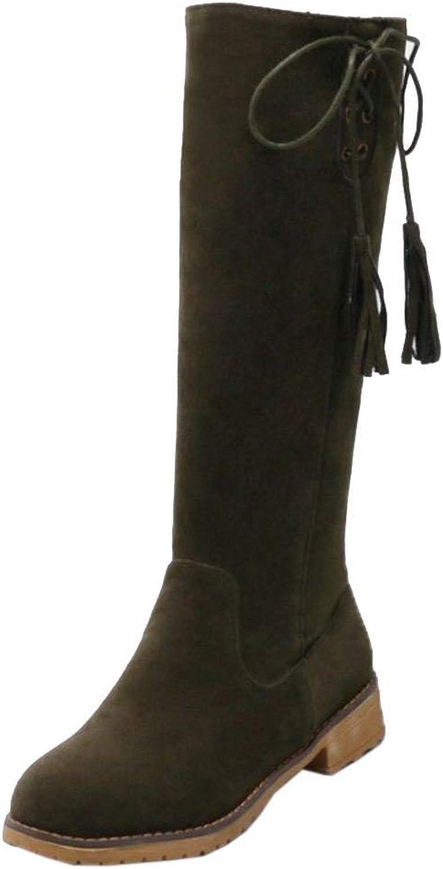 Unm Women's Half Boots Side Zipper