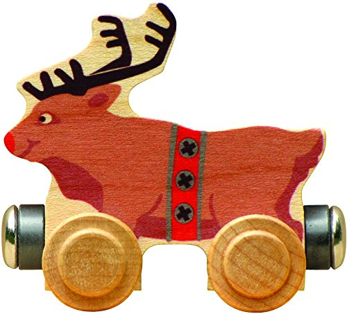 NameTrain - Rudy Reindeer - Made in USA