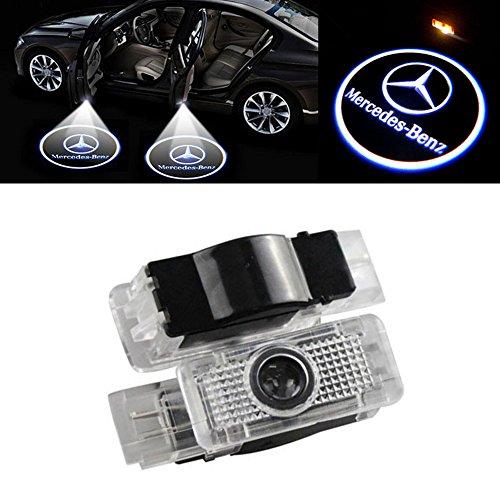 WANGZIQI 2 Stück Autotür LED Logo Türbeleuchtung Einstiegsleuchte Projektion Projektor Licht