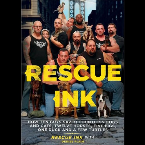 Rescue Ink audiobook cover art