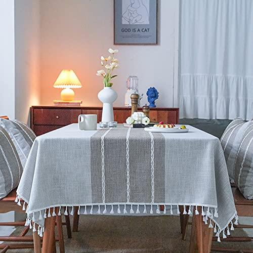 keine Marke Paño de mesa, cubierta de mesa, cubierta de mesa, mantel simple, tapete de mesa adecuado para decoración de cocina casera 90* 90cm