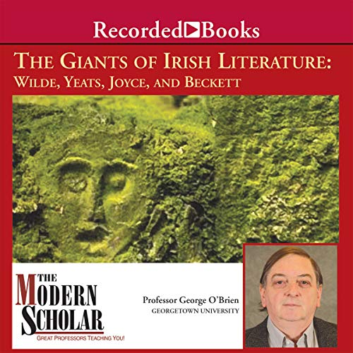 The Giants of Irish Literature audiobook cover art