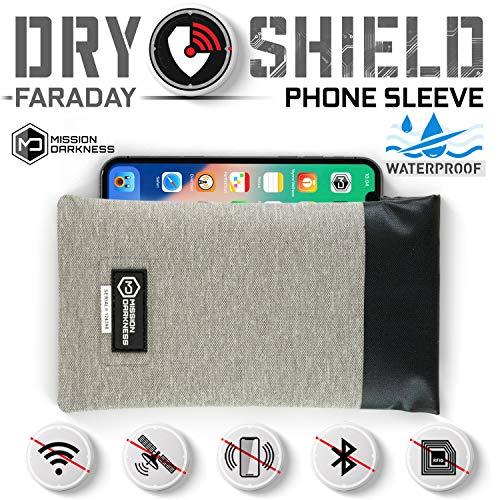 "Cell Faraday Bag Non-Window 7.5/"" x 10/"" Forensic Tablet Bag Blocks GPS Wifi"