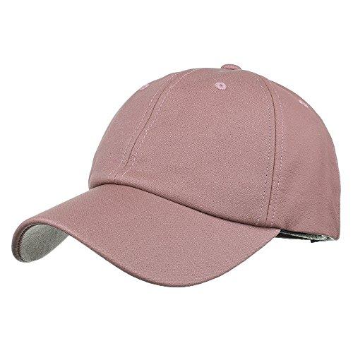 CAOQAO Baseball Cap Wooly Combed - Unisex Kappe ohne Verschluss für Herren, Damen und Kinder