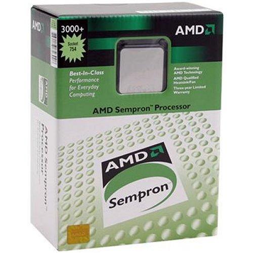 AMD Sempron 3400+ Tray Palermo CPU Sempron 2000 MHz Socket 754 OµPGA 800 FSB 256 KB E6 64 bit