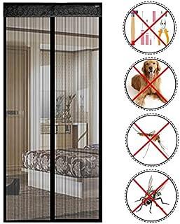 reinefleur magnética cortina de puerta anti insectos moscas