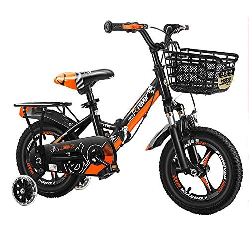 WYYY 14/12/16/18/20 Pulgada De Bicicleta Plegable Ligera, Usada Para Niños Y Niñas...