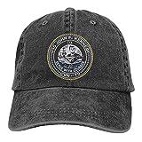 DRXX US Navy USS John F Kennedy CVN-79 Casquette Hat Gorra de béisbol Unisex Ajustable Gorra de Camionero Moda para Adultos