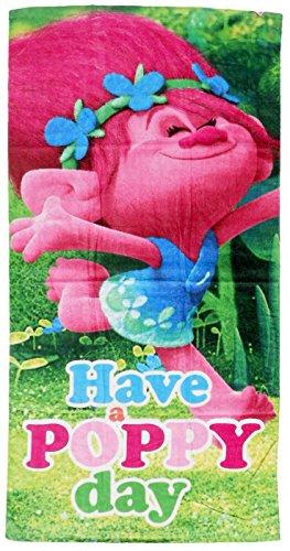 Disney Trolls Poppy - Toalla de Playa (TR17011, 140 x 70 cm)