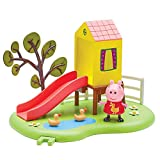 Peppa Pig – Le Toboggan de Peppa – Décor + 1 Mini Figurine