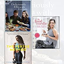 Deliciously Ella with Friends,The Vertue Method[Paperback],The Food Medic 3 Books Collection Set - Healthy Recipes to Love, Share and Enjoy Together,A stronger, fitter, healthier you in 28 days