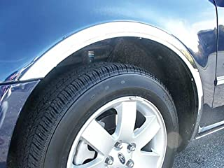 QAA fits 2008-2009 Ford Taurus X 6 Piece Stainless Wheel Well Accent Trim WQ48355