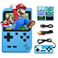 Handheld Game Console,1020mAh Super-Large Battery Capacity of Retro Mini Game Console,Built-In 520 Classic FC Games,3.0-Inch Screen,Support for TV Screen Connection And Two Players to Play Together (Blue). by Margarita S M