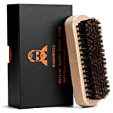 100% NATURAL BOAR SILK BEARD BRUSH - detangles, massages and removes dead skin