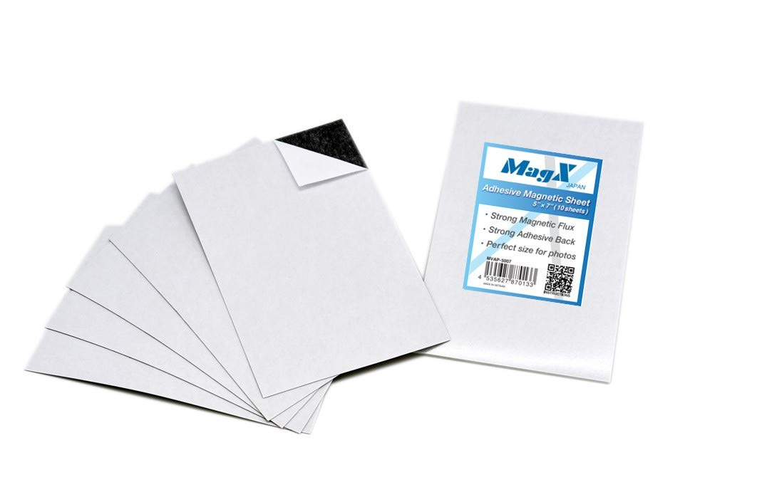 MagX Adhesive Max 47% OFF Magnetic Sheets 5