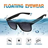 LUXEAR Sports Polarized Sunglasses, Driving Sunglasses Lightweight Unbreakable Floatable, fashionable, Men Women Sunglasses for Water Activities, Surfing, Boating, Fishing, Running, Cycling. Black