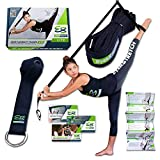 EverStretch Stretching Gambe: più Flessibile col Trainer per la flessibilità per Porta, Attrezzatura Stretching Lite per Danza, MMA, Taekwondo, Ginnastica. Attrezzatura per Lo Stretching Portatile