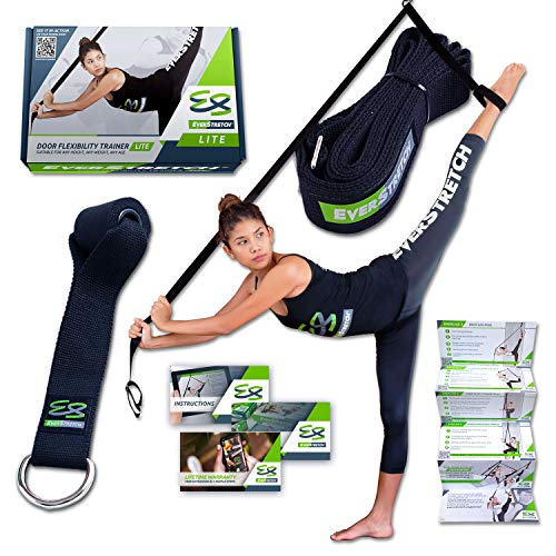 EverStretch Stretch Band: Werde noch Flexibler mit dem Yoga Band Flexibility Trainer LITE Premium Stretching Equipment für Ballett, Tanz, Gymnastik....