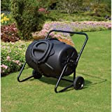 6. 50-Gallon Wheeled Compost Tumbler