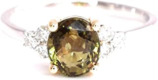 certified alexandrite ring