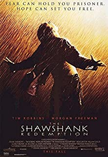 The Shawshank Redemption - Movie Poster: Regular Style (Size: 27 inches x 39)
