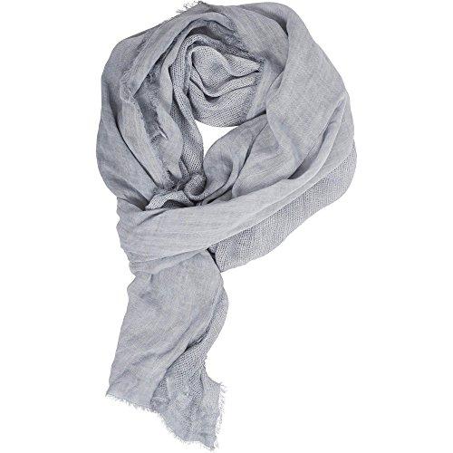 Urban Classics Unisex Uni Colour Mesh Schal, Grau (Grey 00111), One Size