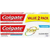 2-Pack Colgate Total 4.8 ounce Toothpaste (Clean Mint)