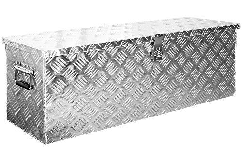 Truckbox Werkzeugbox Werkzeugkiste Anhängerbox Alubox Aluminium Deichselbox D100 Trucky