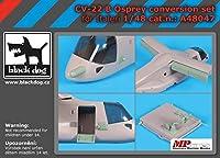 ブラックドッグ A48047 1/48 CV-22 B オスプレイ コンバージョン キット (イタレリ用)