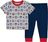 Nickelodeon Baby Boys' Paw Patrol 2 Piece T-Shirt and Pants Set, Grey/Blue/Red, 3-6 Months