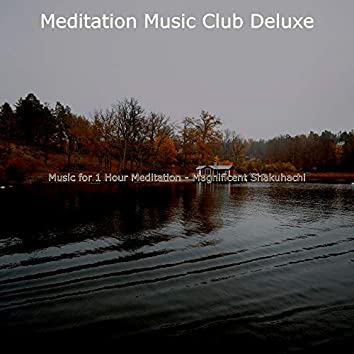 Music for 1 Hour Meditation - Magnificent Shakuhachi