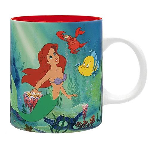 Arielle die Meerjungfrau Disney Premium Keramik Tasse - Under The Sea - Geschenkbox